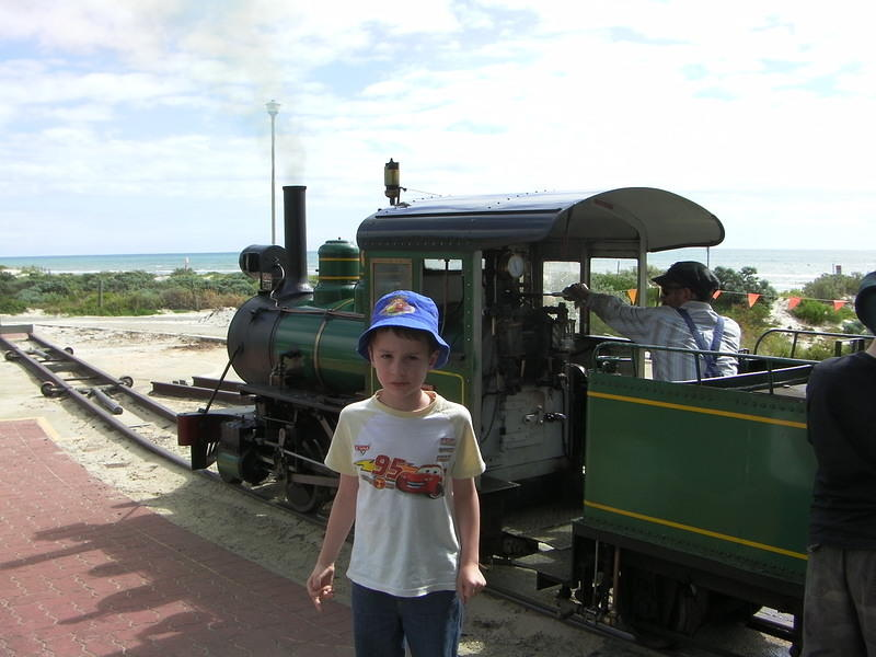 Semaphore miniature train 1
