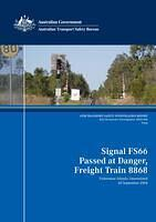2004004 Signal FS66 Passed at Danger Freight Train 8868 Fisherman Islands Queensland 20 September 2004