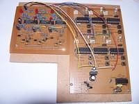 Detector Board Interfaced with Signal Drive Board