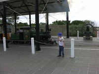 Semaphore miniature train 2